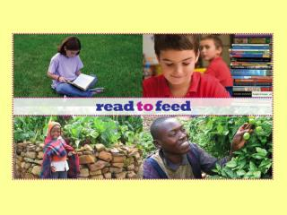 Read to Feed  is a great way to  help poor families in Africa…