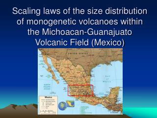 Michoacan-Guanajuato Volcanic Field