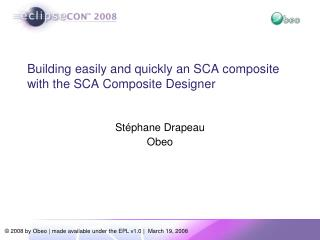 Building easily and quickly an SCA composite with the SCA Composite Designer