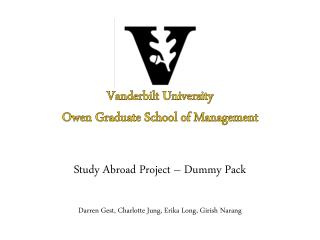 Vanderbilt University Owen Graduate School of Management