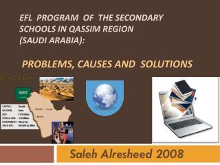Saleh Alresheed  2008