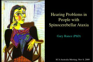 Hearing Problems in People with Spinocerebellar Ataxia