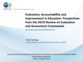 ww.oecd/edu/evaluationpolicy