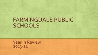 FARMINGDALE PUBLIC SCHOOLS