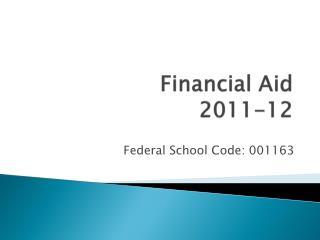 Financial Aid  2011-12