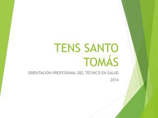 TENS SANTO TOMÁS