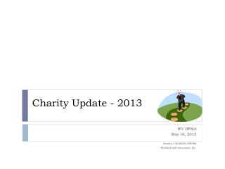Charity Update - 2013