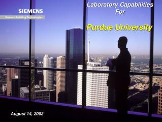 Laboratory Capabilities For Purdue University