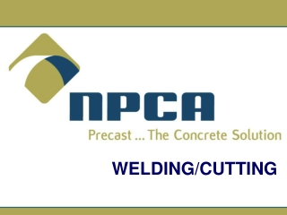 Subpart J Welding and Cutting