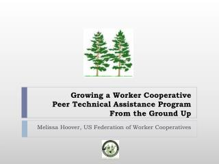 Growing a Worker Cooperative  Peer Technical Assistance Program From the Ground Up