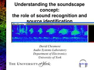 Understanding the soundscape concept: the role of sound recognition and source identification