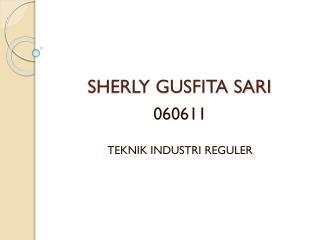 SHERLY GUSFITA SARI