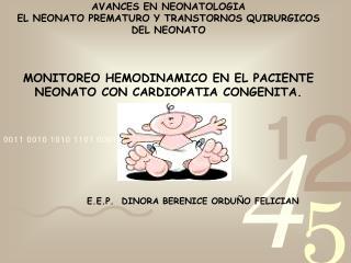 E.E.P.   DINORA BERENICE ORDU�O FELICIAN
