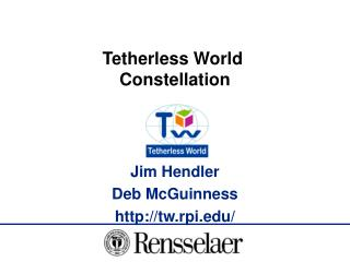 Tetherless World  Constellation