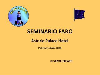 SEMINARIO FARO