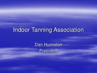 Indoor Tanning Association