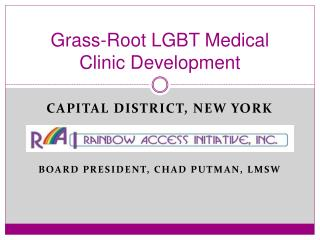 Grass-Root LGBT Medical Clinic Development