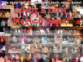 CINDY & DON
