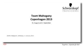 Team Mahogany  Copenhagen 2013