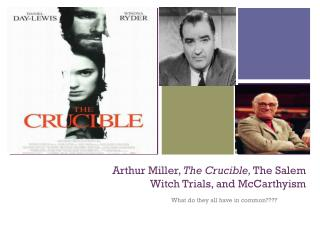the crucible salem witch trials essay John proctor sits down to dinner with his wife, elizabeth mary warren, their servant, has gone to the witch trials, defying elizabeth's order that she.