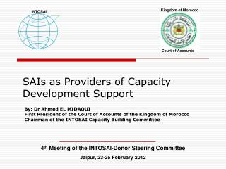 SAIs as Providers of Capacity Development Support