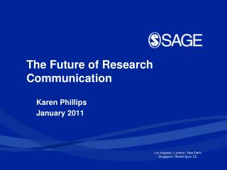 The Future of Research Communication