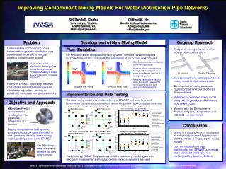 Improving Contaminant Mixing Models For Water Distribution Pipe Networks