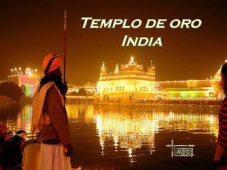 Templo de oro  India