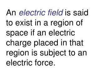 The force on a  10  m C charge is  7 Newtons. What is the magnitude of the electric field?