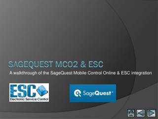 SageQuest MCO2 & ESC