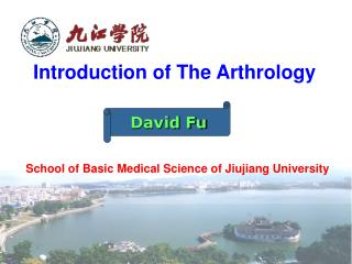 Introduction of The Arthrology School of Basic Medical Science of Jiujiang University