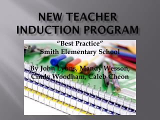 New Teacher Induction Program