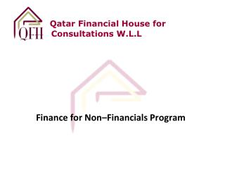 Qatar Financial House for Consultations W.L.L