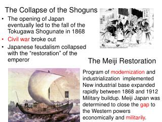 The Collapse of the Shoguns