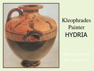 Kleophrades Painter