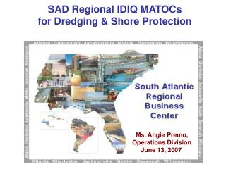 SAD Regional IDIQ MATOCs  for Dredging & Shore Protection
