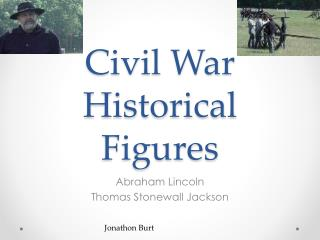 Civil War Historical Figures