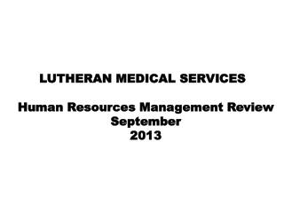 Human Resources  Management  Review September 2013