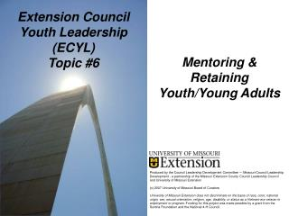 Extension Council Youth Leadership ECYL Topic 6