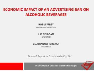 Research Report by Econometrix (Pty) Ltd