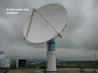 S-Pol center fed antenna