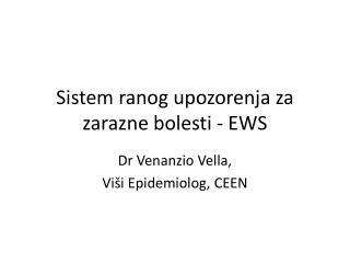 Sistem ranog upozorenja za zarazne bolesti - EWS