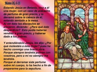 Mateo 26, 6-13