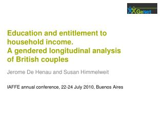 Education and entitlement to household income. A gendered longitudinal analysis of British couples