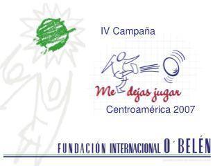 Centroamérica 2007