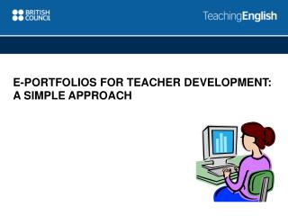 E-portfolios for teacher development: A simple approach