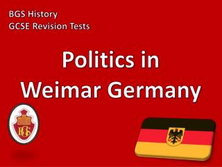 Politics in Weimar Germany