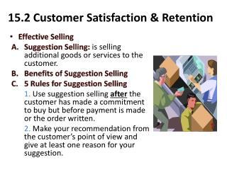 15.2 Customer Satisfaction & Retention