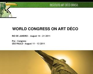 WORLD CONGRESS ON ART DÉCO