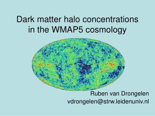 Dark matter halo concentrations in the WMAP5 cosmology